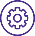 support integrated workflows icon