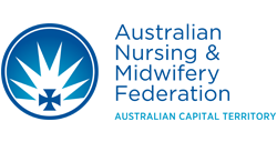 Australian Nursing and Midwifery Federation ACT Branch logo