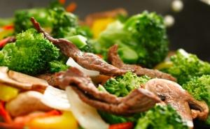 Beef and Broccoli stir fry