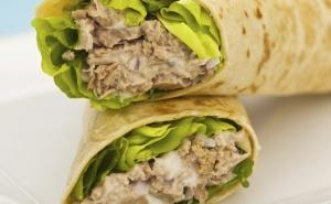 tuna delight wrap