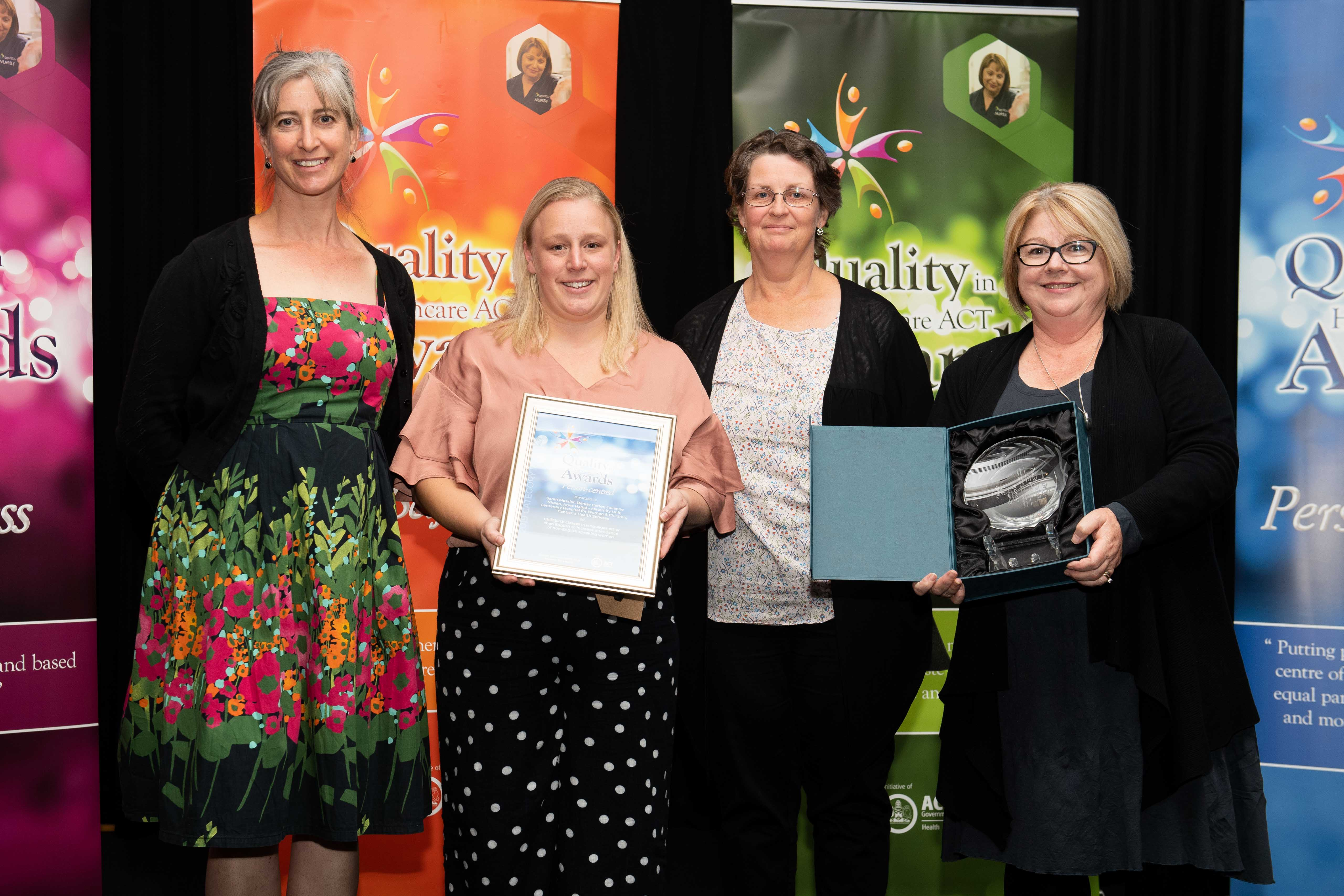 Quality Awards - Person centred