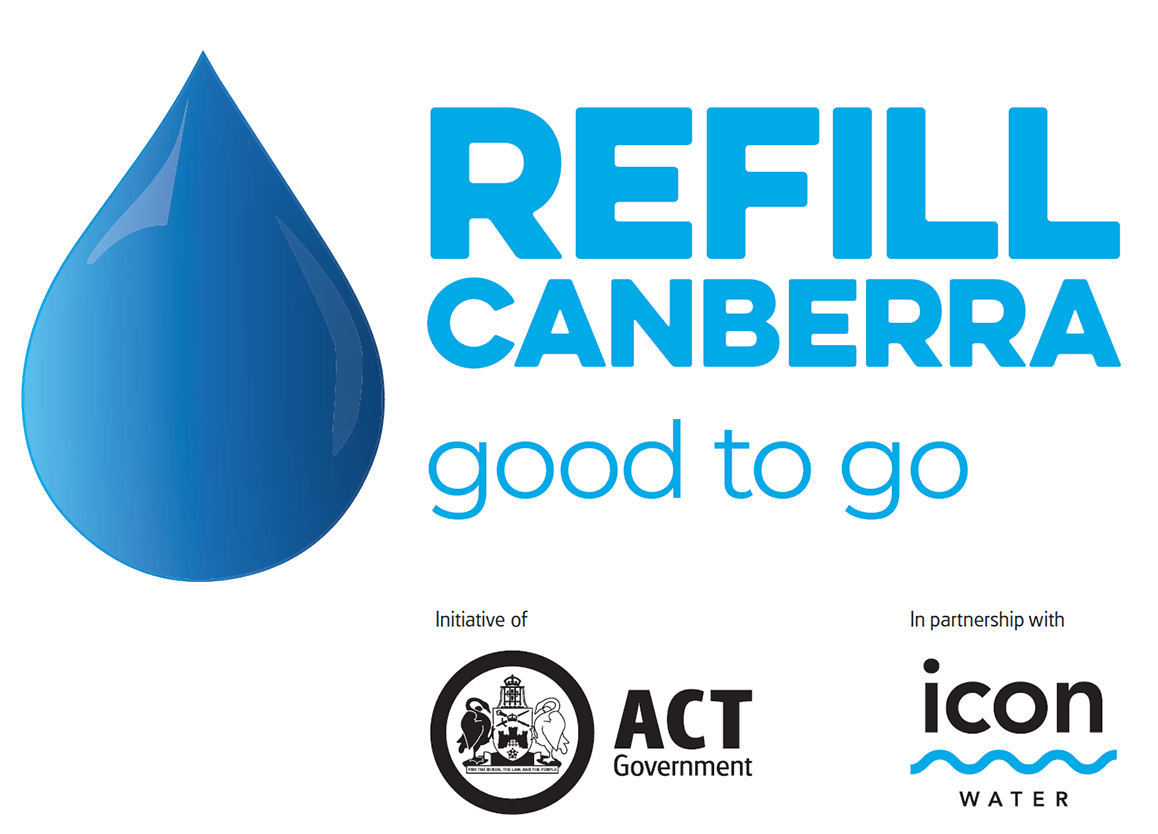 Refill Canberra good to go logo