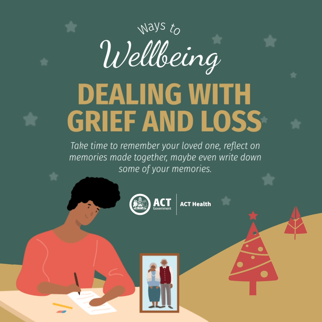 Grief and loss - Ways to Wellbeing