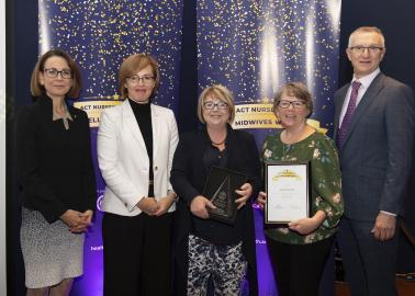 Team of the year snapshot of Childbirth Education Research Team
