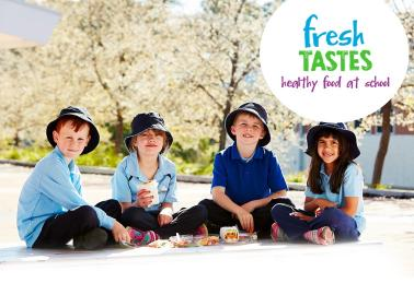fresh tastes section banner